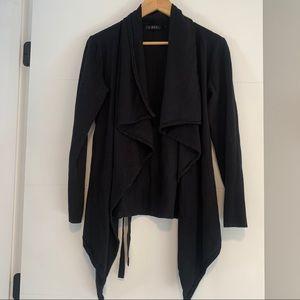 Cyrus | Open Flowy Black Sweater